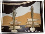 """Tableau """"Les Dunes"""" format 30 x 60 cm - Création Janv/fév 2011"""