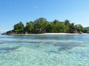 Constance Ephelia, Blick auf die vorgelagerte Insel