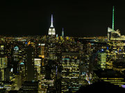 Top of the Rock Ausblick bei Nacht