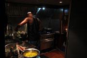 Blick in die Bordküche