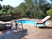 Kleiner Pool auf der Terrasse
