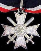 Krzyż rycerski z mieczami za działalność w dyplomacji i w wojsku