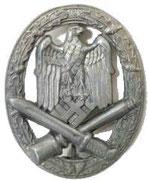 """Odznaka """"Za udział w walkach"""" piechoty. za odbycie 3 szturmów, lub za rany w czasie szturmu, czy też za akty odwagi"""