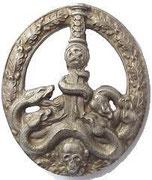 Odznaka za walki z partyzantami w brązie