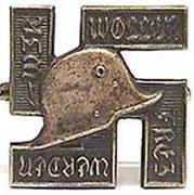 Za udział w Fronbann ( nazistowska paramilitarna organizacja spod sztandarów SA) od 31 grudnia 1927 albo za udział w NSDAP i innych prawicowych paramilitarnych organizacjach od  31 grudnia 1927