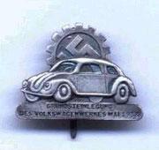 Odznaka dla zasłużonych pracowników zakładów Volkswagen
