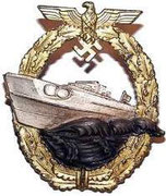 Za słuzbę na eboat czyli ścigaczach