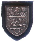 Oficjalnie uznaje sie że jako tarcze zostało ustanowionych podczas II wojny Swiatowej przez niemców 6 odznaczeń tzw.Tarcze Narwik,Cholm,Demjansk.Krym ,Kubań i Lappland