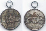 medaille fur deutsche volkspflege. medal na rzecz dobra społecznego. powstał 1 Maja 1939 na mocy dekretu Adolfa Hitlera