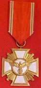 NSDAP Order za 25 lat Służby   Treue und fuhrer Volk  - Lojalność dla Fuhrer i Ludzi