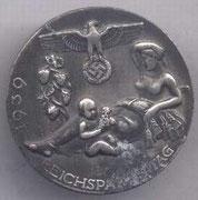 odznaka hitlerowska reichspartaitag 1939