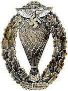 "Odznak wojsk balonowych NSFK. ""Nationalsozialistisches Fliegerkorps (NSFK)"