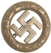Odznaka ze zlotu NSDAP w  Monachium-1933