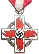 Odznaka strażacka 2 klasy. Odznaka za poświęcenie lub długa służbę, dostępne 1 klasy i 2 klasy