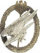 odznaka skoczków spadochronowych