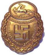 Odznaka jedna z wielu zlotowa wschodni hanover 1933 rok