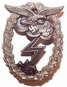 Główna odznaka szturmowa Luftwaffe. Aby otrzymac tę odznakę trzeba było uczestniczyć w natarciach , lub być ranionym w czasie natarcia i dotyczyło to tylko Luftwaffe