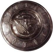 Taca srebrna honorowa przyznawana za szczególne osiągnięcia jakie trudno mi powiedzieć. Bardzo wysoki szczebel