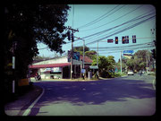 Traffic light Nai-Harn x Rawai. Go LEFT towards Rawai.