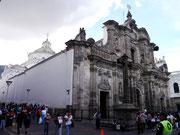 Iglesia de la Compana de Jesus, Quito, Ecuador