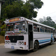 another Leyland Lanka bus passes by...