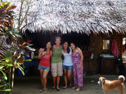 Devine, Deborah, Dina and Daisy at Driftwood Village Beach Resort