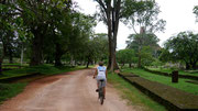 we cycled all day around the ancient city of Anuradhapura