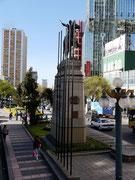 Monumento a Bolivar - La Paz, Bolivia