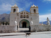 Iglesia at a small pueblo, Colca Canyon