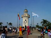 Lighthouse at Cerro Santa Ana, Guayaquil, Ecuador