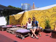 our hostel in Colonia del Sacaramento, Uruguay