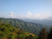 views travelling from Vang Vieng to Luang Prabang