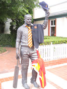 The Don in MCC club kit - Bowral, New South Wales, Australia