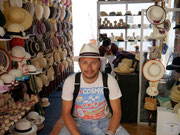 Trying to find the ultimate Panama hat in Cuenca, Ecuador