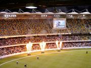 Brisbane Heat vs Hobart Hurricanes in the KFC T20 Big Bash at the Gabba