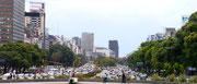 Avenida 9 de Julio, Buenos Aires, Argentina (Bus Tour)