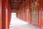 The Forbidden Purple City at the Citadel, Imperial City of Hue, Vietnam