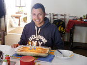 another birthday cake at our home stay's house