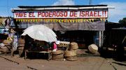 visiting the market town of Masaya, Nicaragua