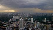 view of Kuala Lumpur from Menara (Tower)