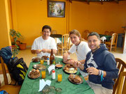 with our CS host family (Gustavo & Pablo) in Cochabamba, Bolivia