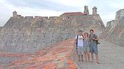 San Felipe Barajas Castle (Castillo de San Felipe de Barajas), Cartagena, Colombia