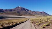 Lagunas Miskarti y Miniques, San Pedro de Atacama, Chile