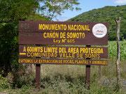 Canon de Somoto, Nicaragua