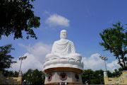 Long son White Buddha, Nha Trang, Vietnam