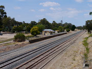 Glenrowan Railway Station, Victoria, Australia