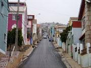 Avenida Alemania - Valparaiso, Chile