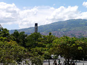 view from Jardin Botanico - Medellin, Colombia
