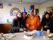 Deborah, Dingo and Omar the jefe!