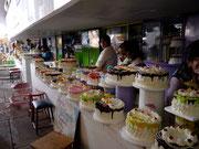 Queque in the Central Mercado, Sucre, Bolivia